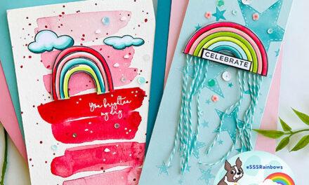 Simon Says Stamp Rainbows Release IG Hop