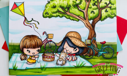 Picnic Time at The Greeting Farm