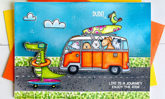 Enjoy the Ride with Jane's Doodles