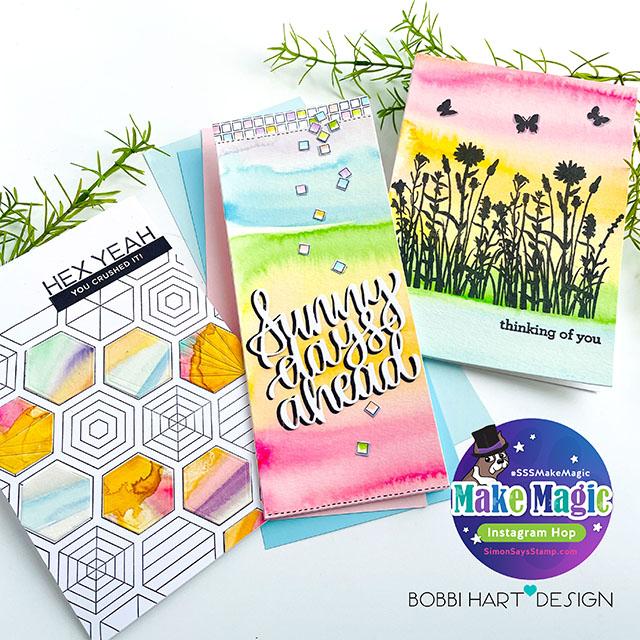 Make Magic IG Hop for Simon Says Stamp