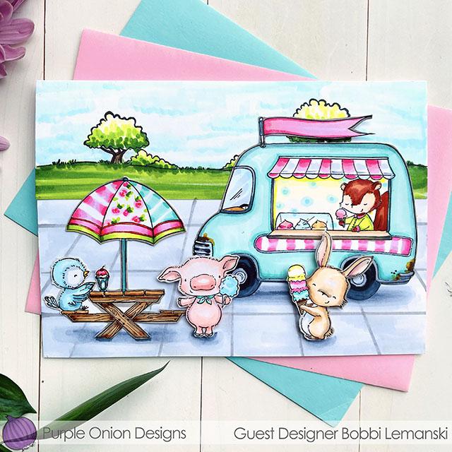 Sweet Sundae on Sunday with Purple Onion Designs