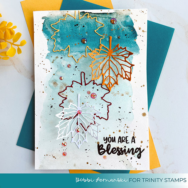 Falling Leaves by Trinity Stamps