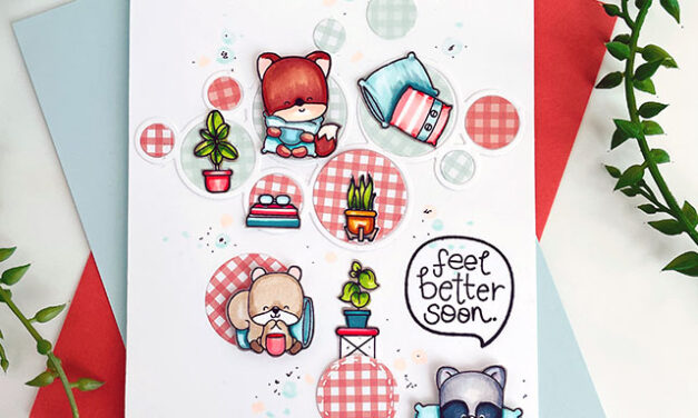Feel Better Soon Card using Paperie Ink