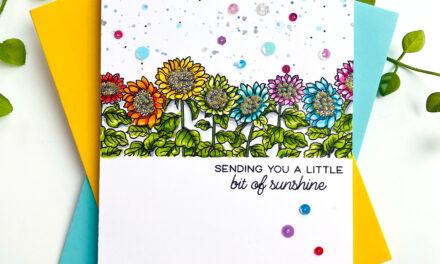 STAMPtember, Sunshine and Sunflowers