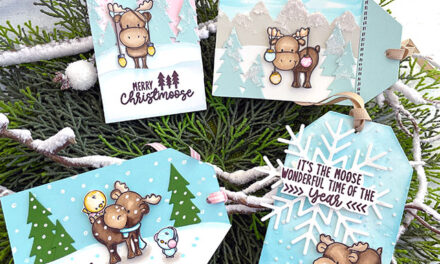 Merry ChristMOOSE Tags for the Holidays