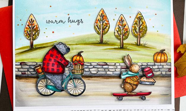 Warm Hugs by Jane's Doodles
